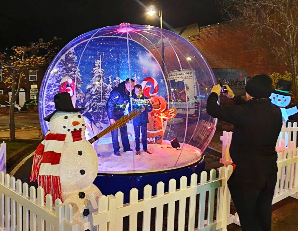 Hire Giant Snow Globe