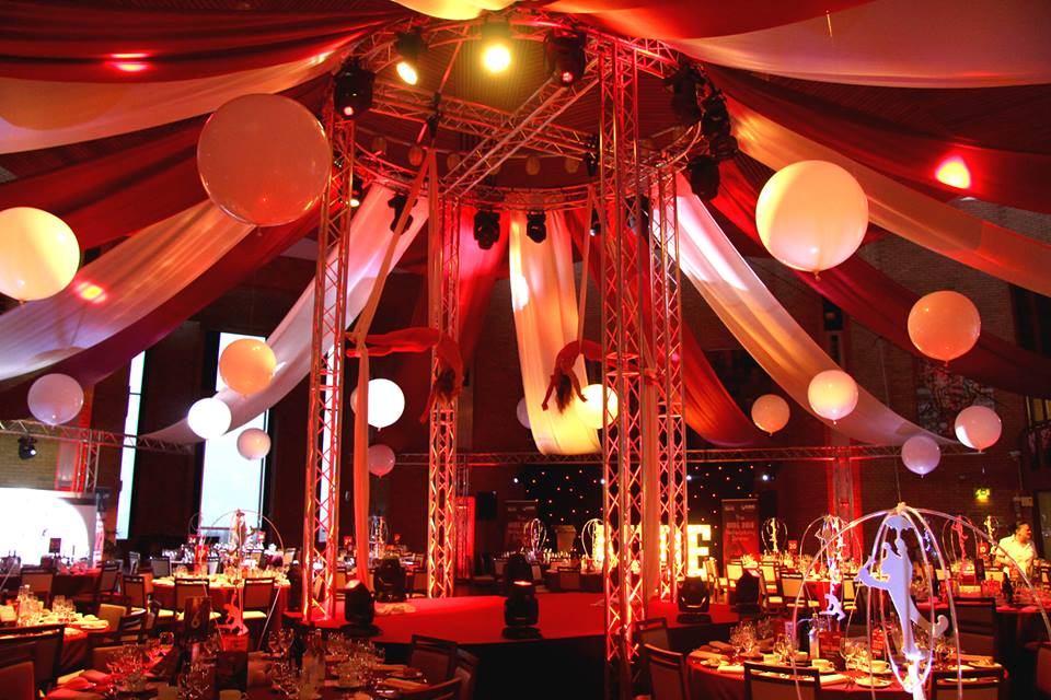 Circus Themed Venue Decor
