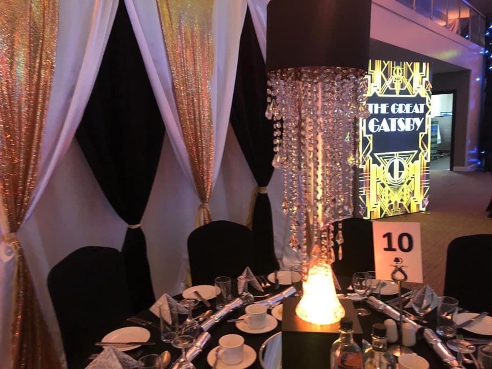 Hire Gatsby Themed Decor