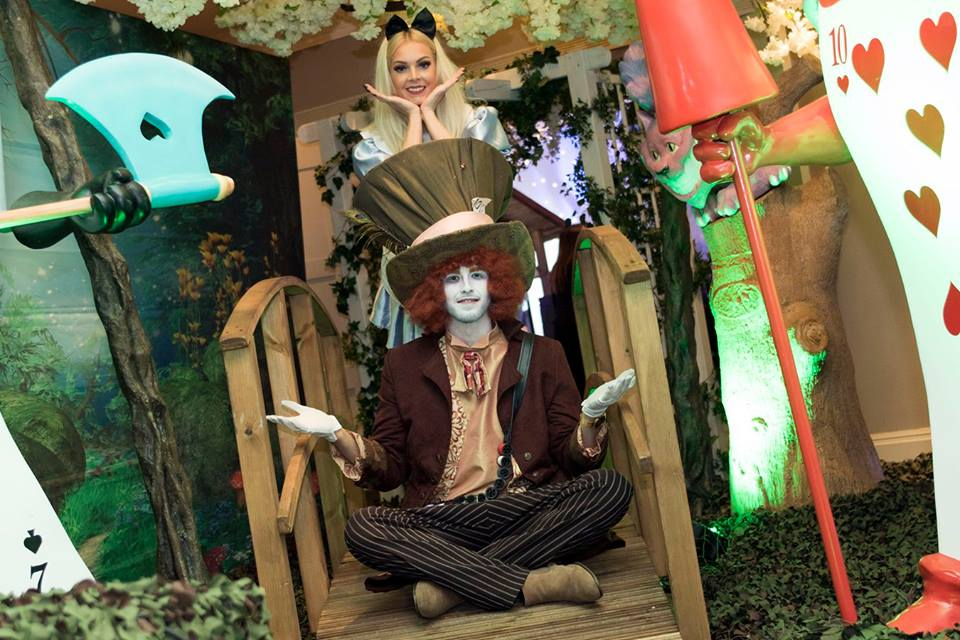 Alice In Wonderland Themed Character Performers
