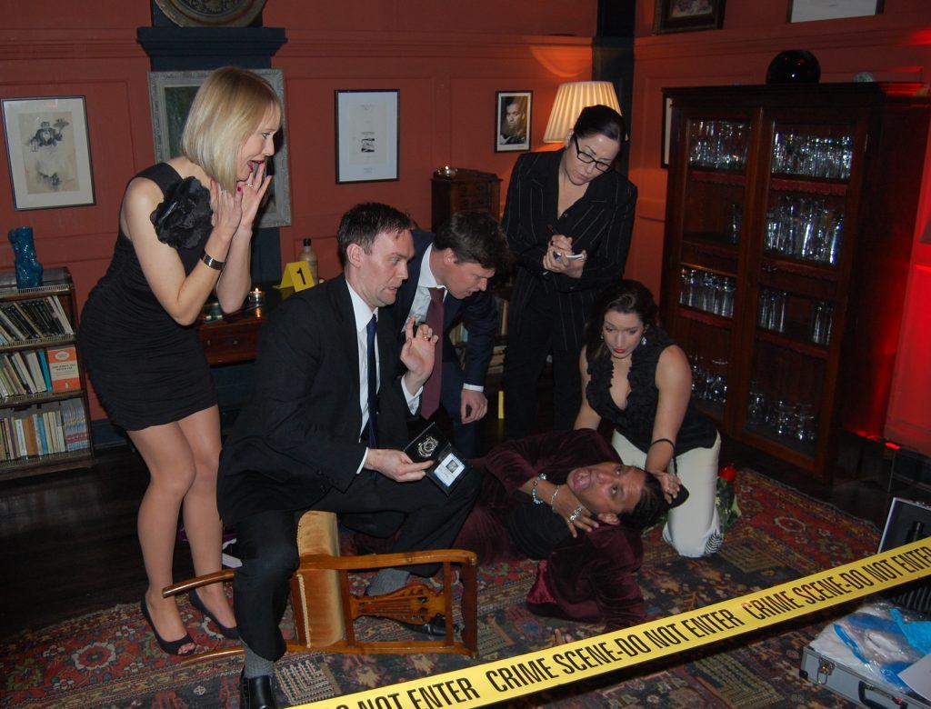 Plan a Murder Mystery Event