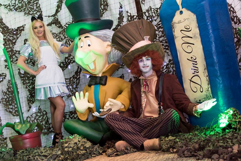 Alice Mad Hatter Characters Themed Event