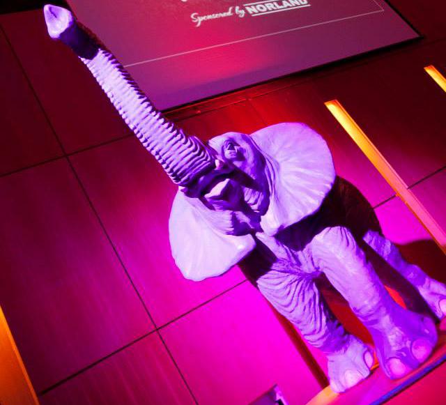 Circus Elephant Prop