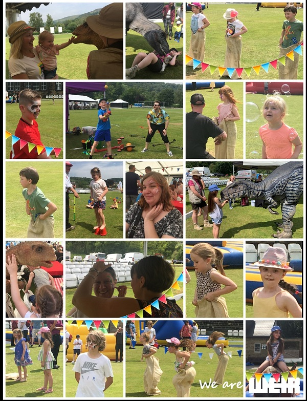 collage family fun day