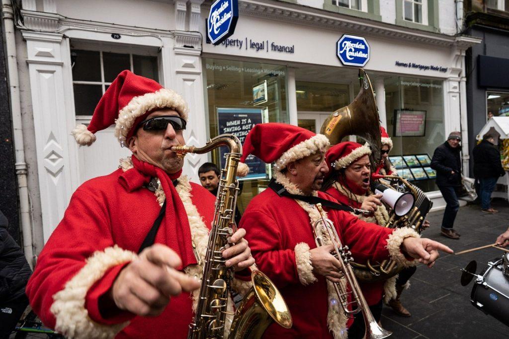 Book a Santa Band