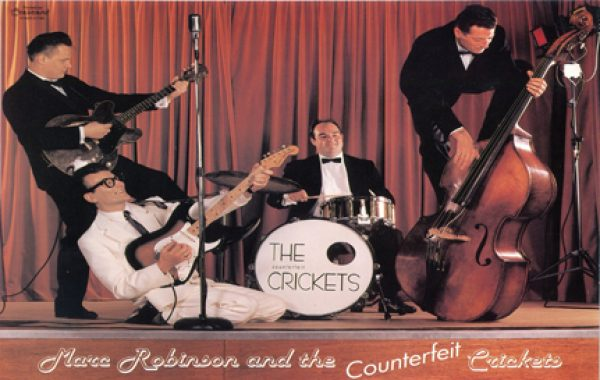 Marc Robinson & The Counterfeit Crickets
