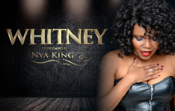 Whitney Houston by Nya King