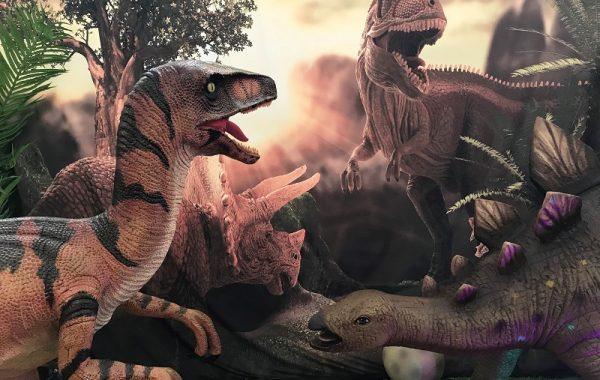 Dinosaur Props
