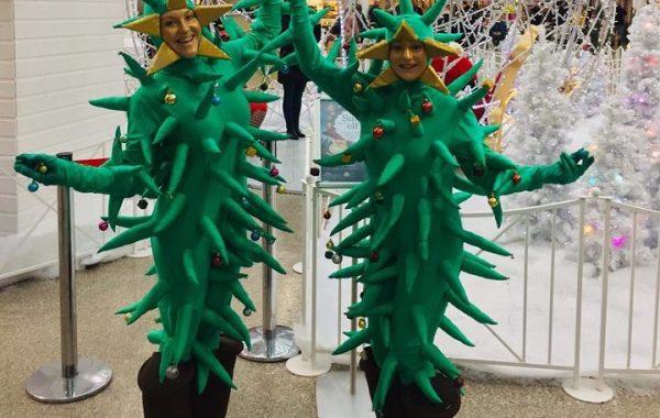 Human Christmas Trees