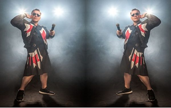 AJ as Robbie Williams