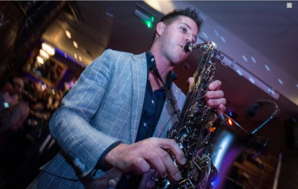 Saxophone Player – David